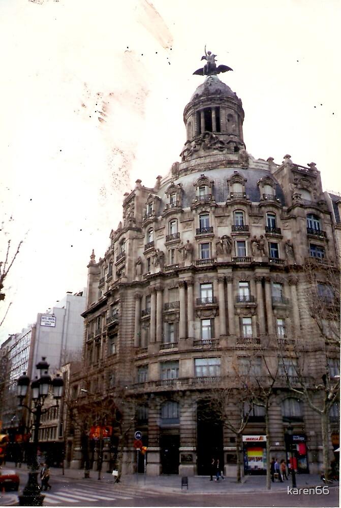 Side View in bacelona spain by karen66