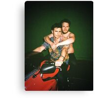James Franco & Seth Rogan Canvas Print