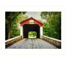 Van Sandt Covered Bridge II Art Print