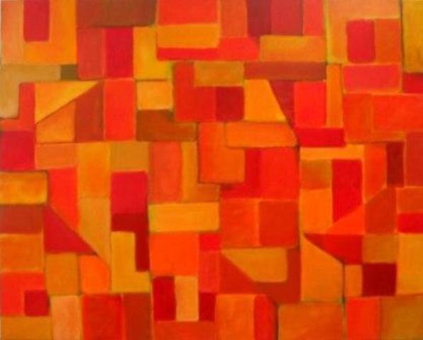 Geometric composition 10 by Nicolau  Campos