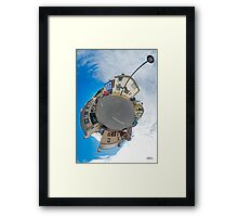 Kilcar Main Street - Sky Out Framed Print