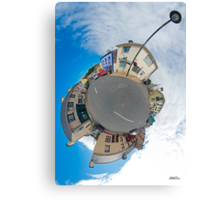 Kilcar Main Street - Sky Out Canvas Print