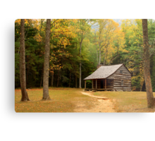 Autumn In The Cove Metal Print