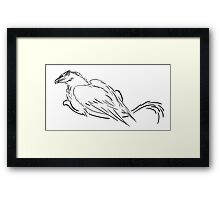 Simple Griffon Framed Print