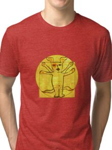 Dog Vinci  Tri-blend T-Shirt