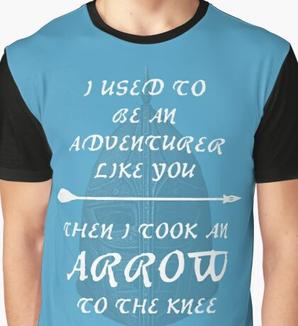 Skyrim: Arrow to the Knee Graphic T-Shirt