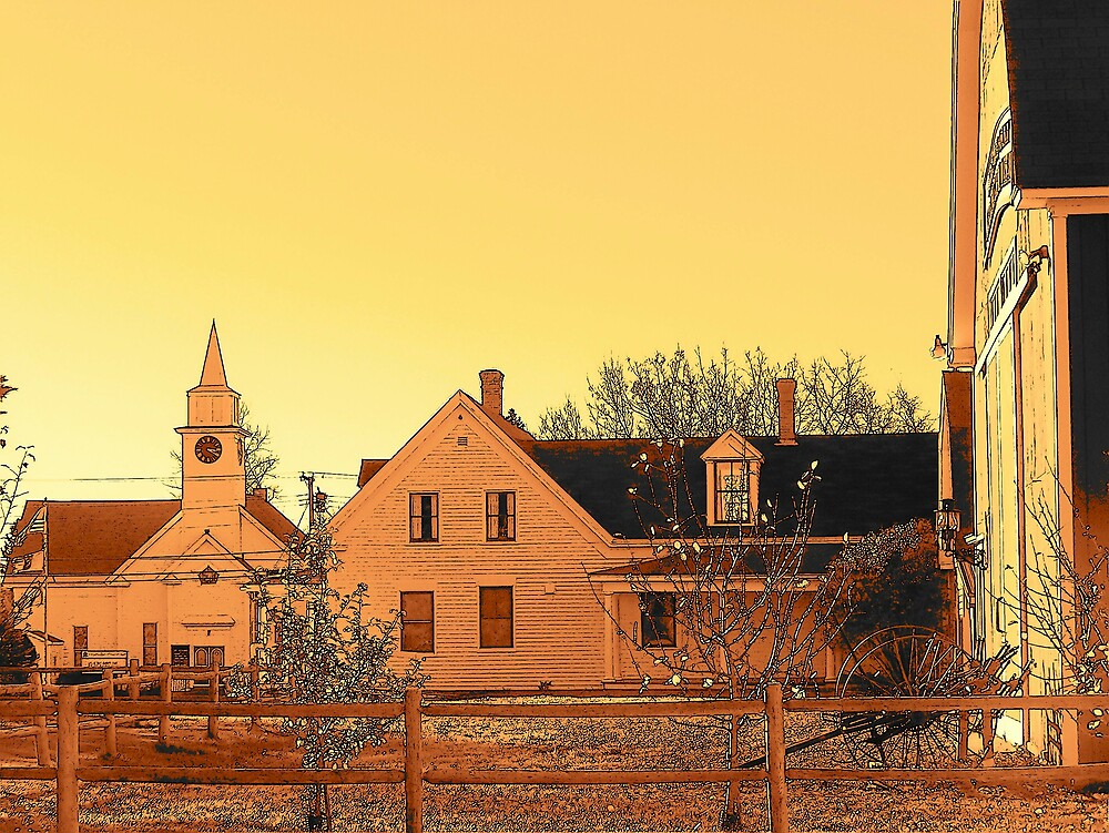 Small Town by Gene Cyr