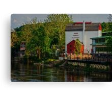 Bucks County Playhouse Canvas Print