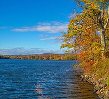 USA. Connecticut. Lake Waramaug. by vadim19