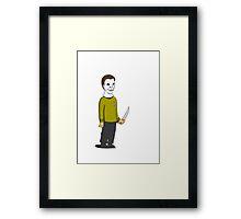 captain meyers Framed Print