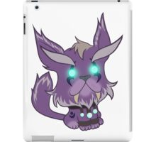 Kitty is for Feral : Purple Too! iPad Case/Skin