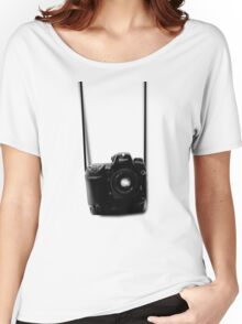 Camera shirt 2 - for Nikon users Women's Relaxed Fit T-Shirt