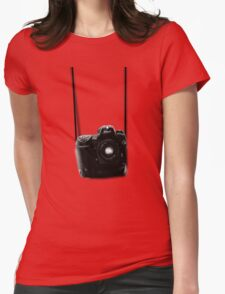 Camera shirt 2 - for Nikon users Womens Fitted T-Shirt