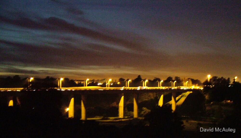 Night Bridge by David McAuley