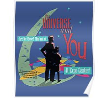 The Universe And You Poster