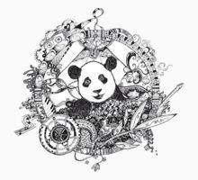 Rocking panda Kids Clothes