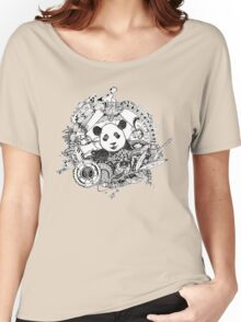 Rocking panda Women's Relaxed Fit T-Shirt