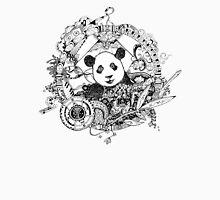 Rocking panda Unisex T-Shirt