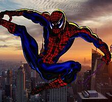 City Web Slinging by Dan Snelgrove