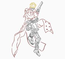 Vash The Stampede Celtic Colored by KewlZidane