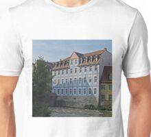 The blue building, Bamberg, Germany Unisex T-Shirt
