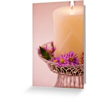 Softly Aglow Greeting Card