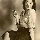 Hetty, My Mother, circa mid 1930's (story in the description)  by Heather Friedman