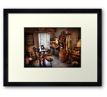 Dentist - Dental workout room  Framed Print