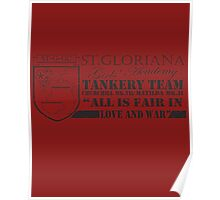 St.Gloriana Team Shirt Poster