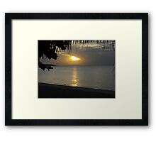 Koh Samui Sunrise Framed Print