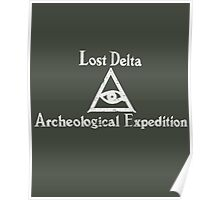 Lost Delta Expedition  Poster
