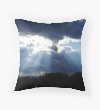 Where there is light, there is hope... Throw Pillow