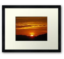 Koh Phra Nang Sunset Framed Print