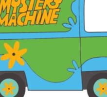 Scooby Doo Mystery Machine - Mean Girls Sticker