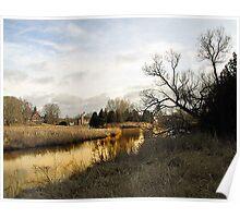 On Golden Pond. Poster