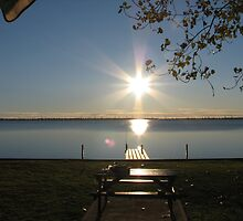 Sunrise over Lake Mulwala by katt471