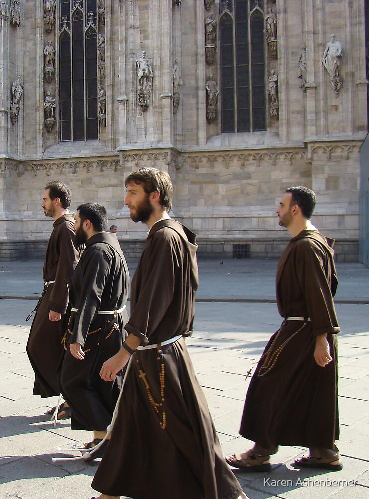 Monks on the Move by Karen Ashenberner