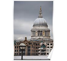 St Paul's Cathedral Dome Poster