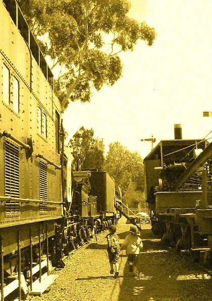 Boys & Trains by katt471
