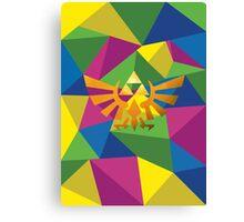 Legend of zelda polygon Canvas Print