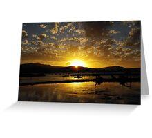 Airley Beach - Sunset ~  Greeting Card