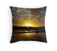 Airley Beach - Sunset ~  Throw Pillow