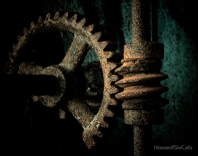 Rusted Gear by HouseofSixCats