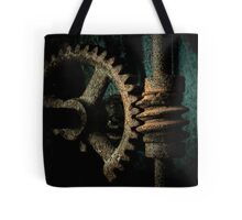 Rusted Gear Tote Bag
