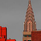 Evening Burn - Chrysler Building, New York City by Judith Oppenheimer