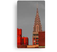 Evening Burn - Chrysler Building, New York City Canvas Print