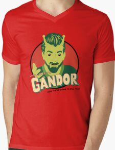 Welcome to Gandor Mens V-Neck T-Shirt