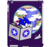 Hedgehogs in Space iPad Case/Skin