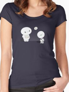 On a scale from 1 to 10 Women's Fitted Scoop T-Shirt