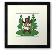 Free Hugs! Framed Print